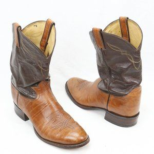 Tony Lama 2023 Two-Toned Western Cowboy Boots